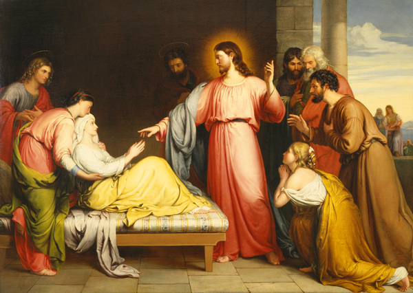 Christ healing peters mother in law